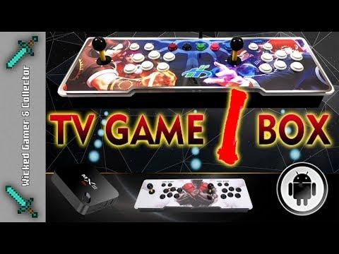 Pandora's Real Arcade Stick / TV GAME 1 BOX - Android Edition - 1760 In 1  Multi Retro Game