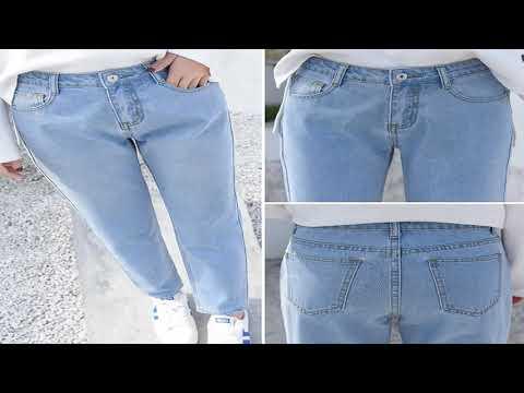 купить джинсы бойфренды на алиэкспресс