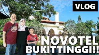 Gambar cover NOVOTEL BUKITTINGGI!! MENGINAP SEMALAM DI HOTEL TERBAIK?? Vlog Keluarga | Vlog Indonesia