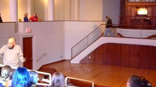 Popping Ballon at Bales Organ Recital Hall @ Bob Coffeen
