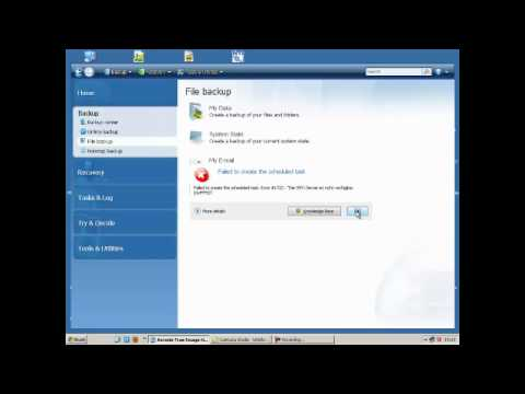 Acronis True Image -How to fix the RPC server Unavailable Error (Windows  XP)