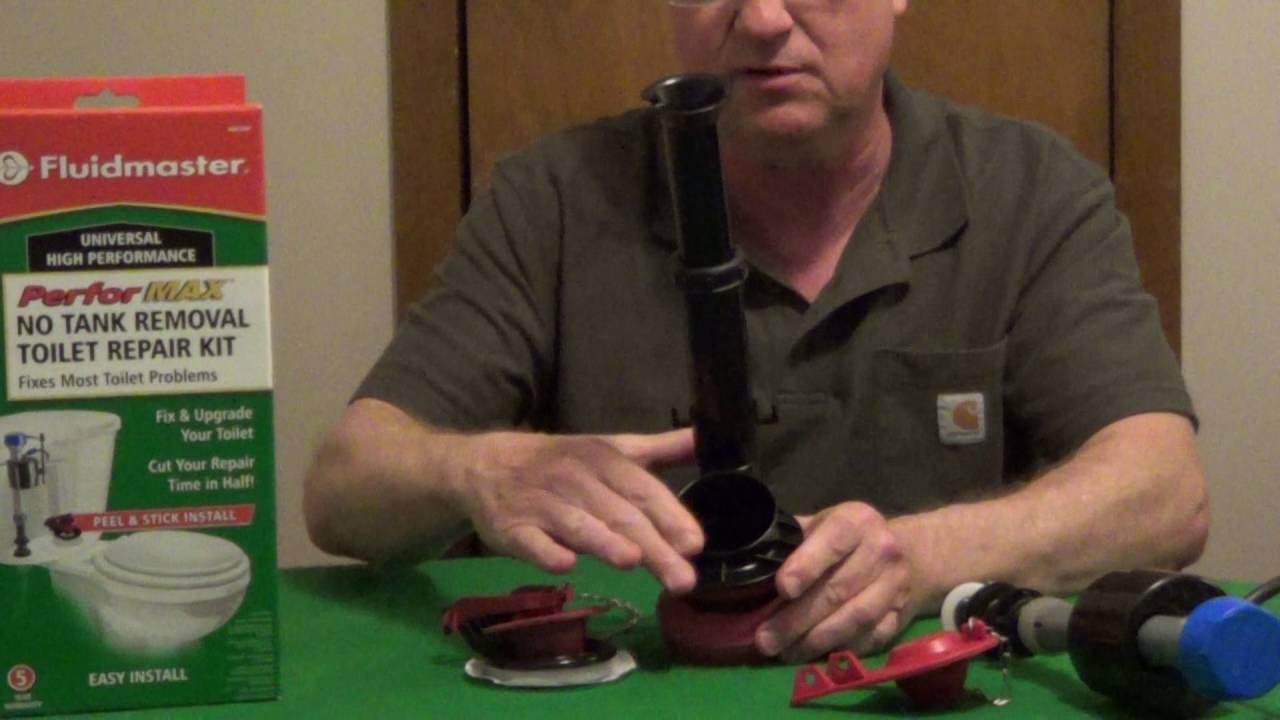 Toilet Repair Kit Fluidmaster Youtube