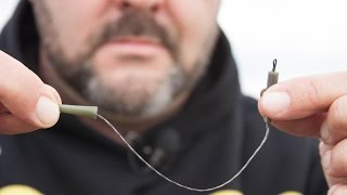 SBS Carp Fishing Quick Tips - How to use safety lead clip?