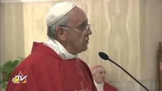 Papa Francisco: como santo Tomás toquemos las llagas de Jesú