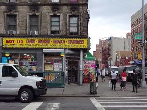 ニューヨークエリア紹介 / East Harlem 110ストリート