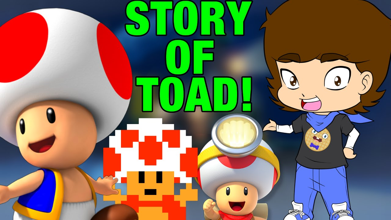 Download Toad Is A HERO?! (The Life Story Of Toad) - ConnerTheWaffle