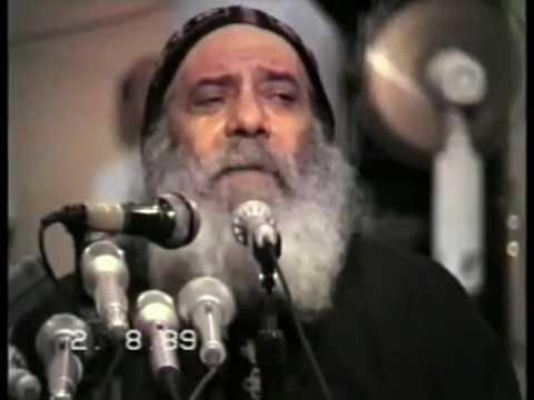 الاختبار فى الحياة الروحيه † من أروع العظات للبابا شنوده الثالث † 1989 †