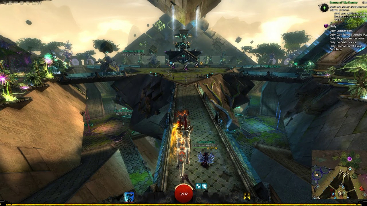 Guild Wars 2 - Mounts radial menu test #3