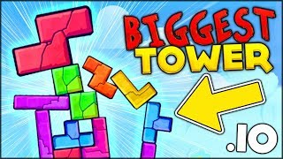 THE BEST IO GAME ON THE PLANET!! BECOMING THE BIGGEST TOWER -- Tricky Tower .io