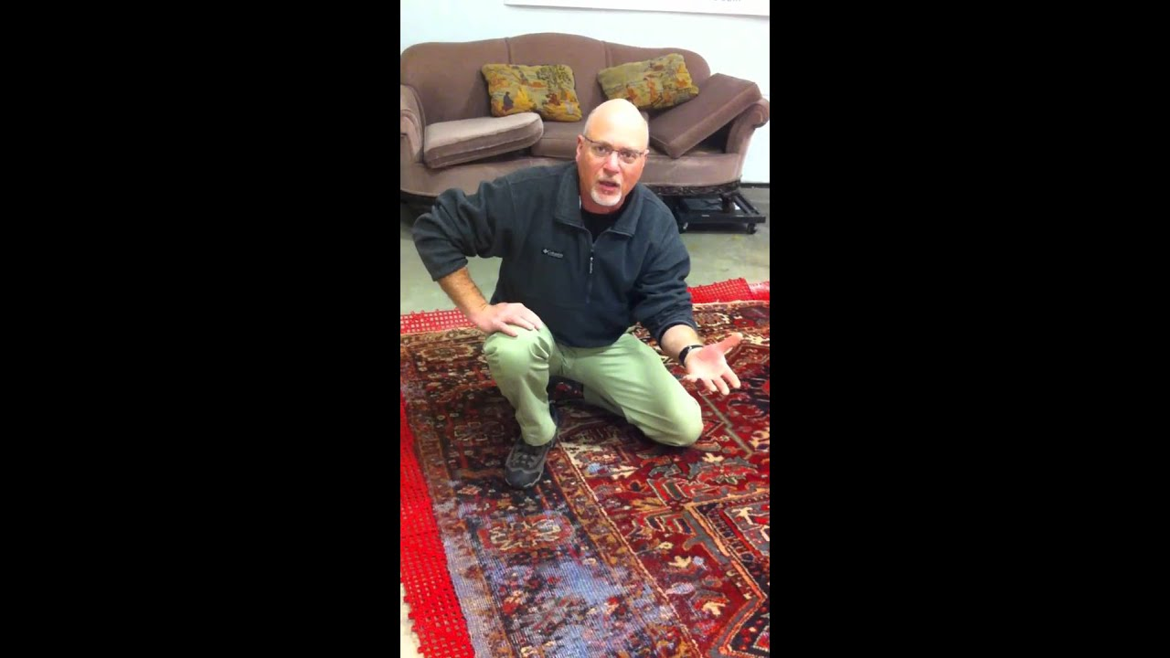 Boston Area Oriental Rug Moth Damaged