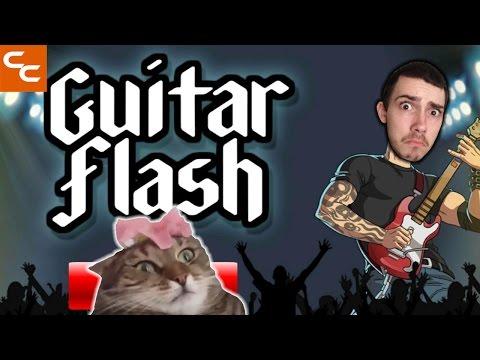 RIP OFF GUITAR HERO GAME (Guitar Flash)