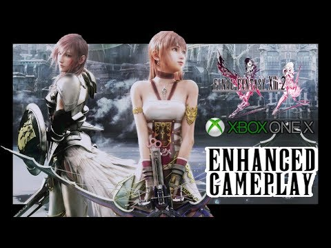 Final Fantasy XIII-2 (13-2) Xbox One X ENHANCED Gameplay