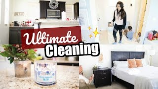 NEW! ULTIMATE CLEAN WITH ME | EXTREME CLEANING MOTIVATION FOR THE NEW YEAR!