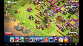 clash of clans (deutsch), Level 100 + Erdbebenzauber ( Mega Loot ?!?!)