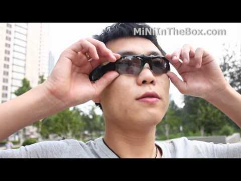 MP3 Player Sunglasses From MiNiInTheBox
