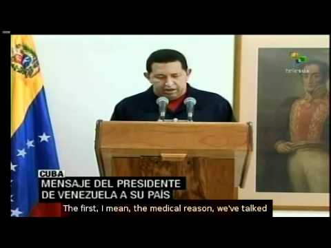 Chavez informed about his health