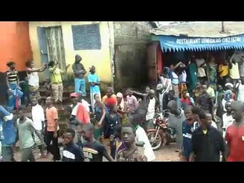Manifestation du 16 Août à Conakry: Progression des militants de l