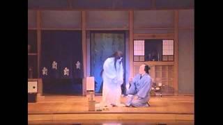 歌舞伎ルネサンス公演「応挙の幽霊」2010年1月 出演:朝丘雪路、萩原流行.