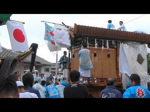 八屋祇園 2019年度 八幡町踊り車 福岡県豊前市