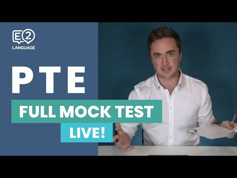 PTE Full Mock Test - LIVE!