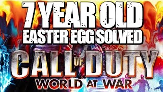 7 Year Old World at War Zombie Easter Egg Solved  Chaos