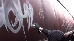 GRAFFITI - Handstyles & Throwies - Beat by J'ADED - Stompdown Killaz - Big Miles SDK - Canada