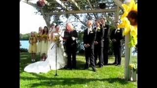 Wedding of Mark and Kayla Gillis