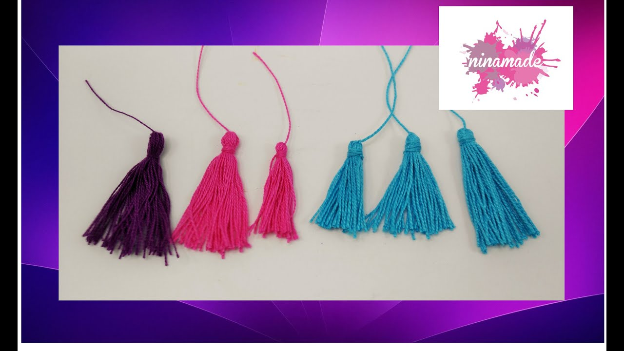 Diy comment faire des pompons avec du fil tr s facile - Creation facile a faire soi meme ...