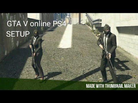 GTA V online PS4   Prison Break - Wet Work SETUP   KLE HO