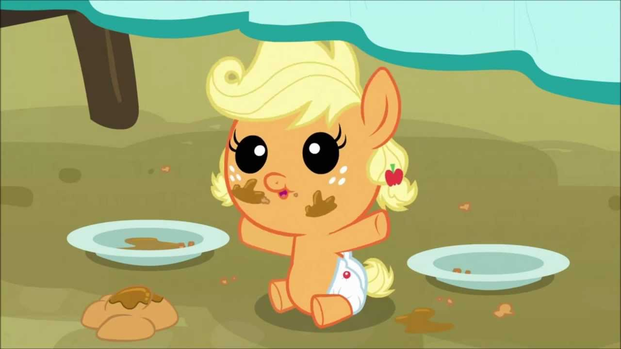 My little pony baby applejack - photo#21