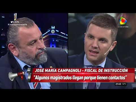 Campagnoli: Esto antes no existía, había un cepo judicial