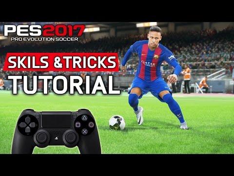 PES 2017 SKILLS & TRICKS TUTORIAL [Playstation & Xbox] HD 1080p