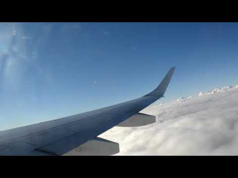 ONBOARD (SUNSET FLIGHT)- FLYBE E195 BE4427 Doncaster Sheffield to Malaga (FULL FLIGHT)