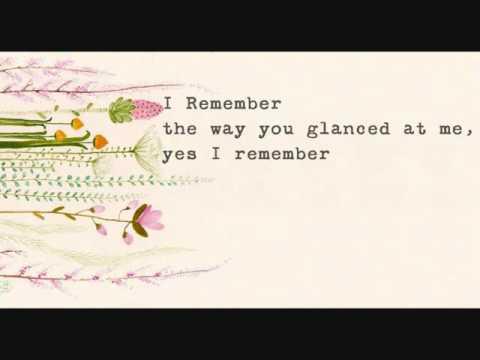Mocca - I remember (lirik )