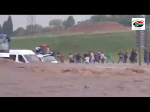 Crazy weather in South Africa 2016 (Bloemfontein and Gauteng)