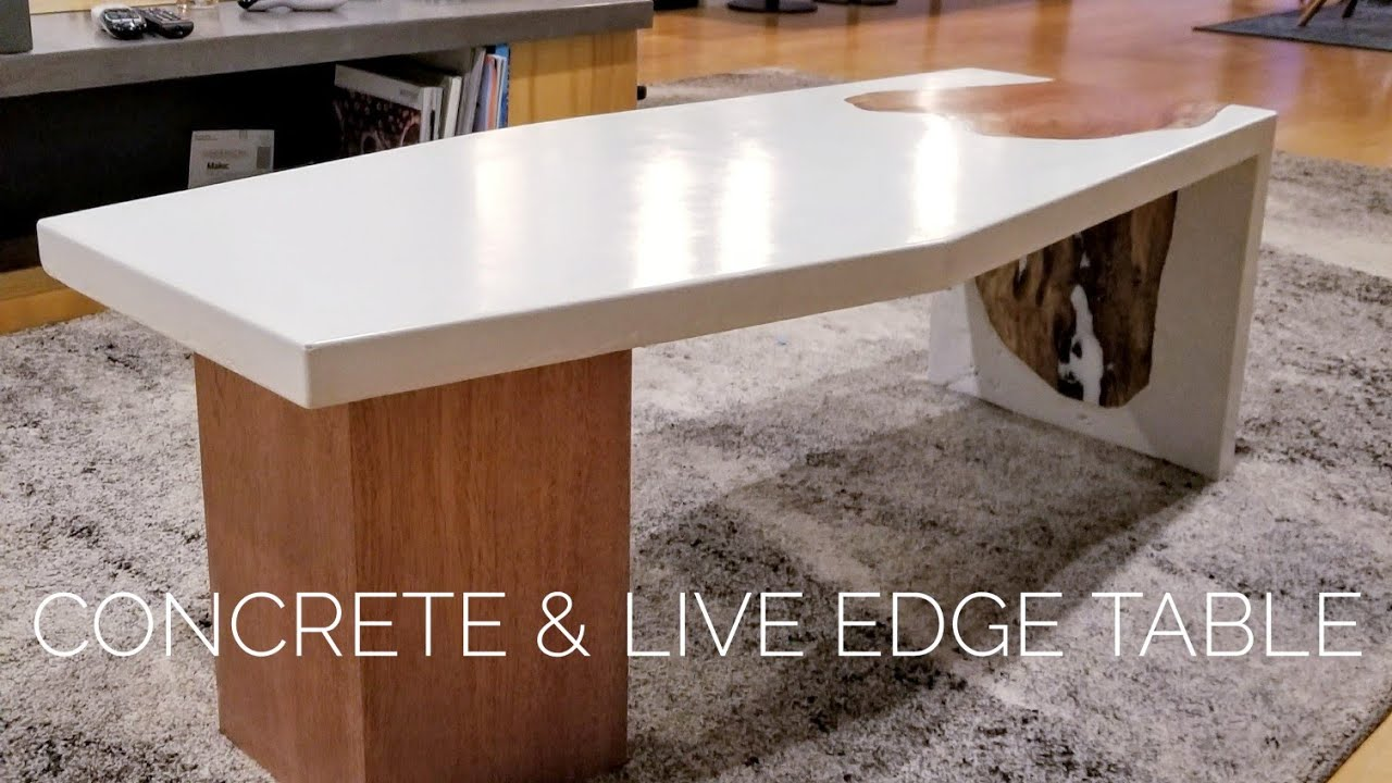 Concrete Gfrc Coffeetable