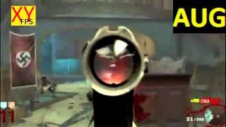 zombie black ops: test de toutes les armes améliorées