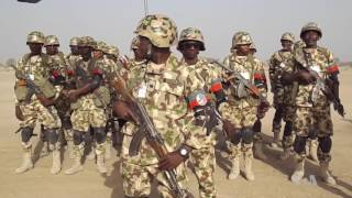 Download Nigerian Army Holds Drill in Sambisa Forest, Former Boko Haram Stronghold
