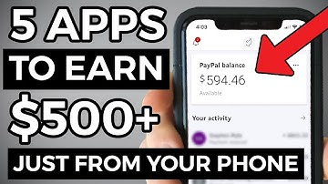 5 BEST Apps To Make Money From Your Phone (2020)