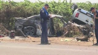 8 killed in 2 separate Madera County crashes 1 day and 2 miles apart