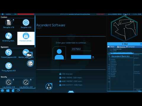 Uplink OS Bank Hacking Difficulty 7 8