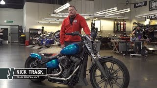 Trask Performance 2018 Hot Bike Tour Softail
