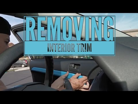 How To Remove Interior Trim On A Mitsubishi Lancer
