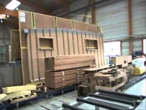 HABILLAGE OSSATURE MAISON IC BOIS wmv YouTube