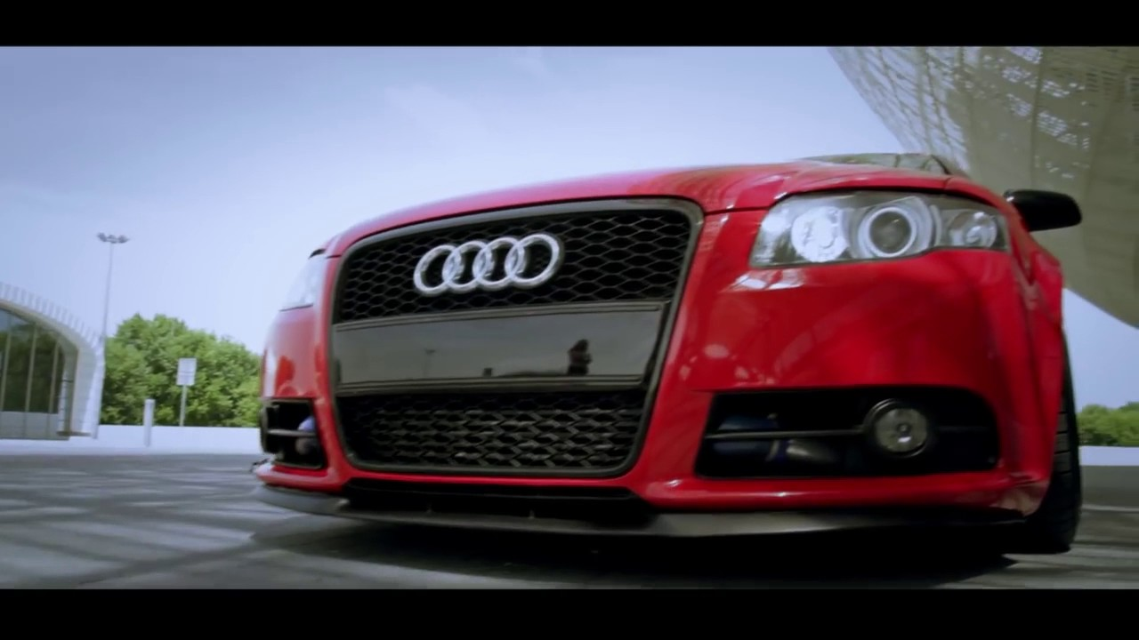 audi a4 b7 avant briliant red 19 39 air ride youtube. Black Bedroom Furniture Sets. Home Design Ideas