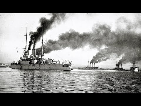 Черноморский флот. Корабельная артиллерия 1916 /  Russian Black Sea Fleet. Naval artillery