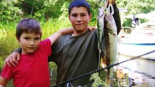 Рибалка в Калязине.