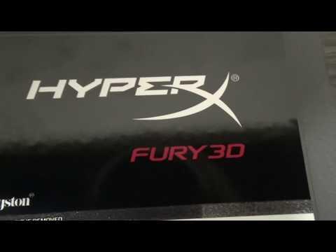 "Kingston SSD HyperX Fury 3D 120GB 2.5"" SATAIII TLC (KC–S44120–6F)"