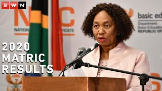 Basic Education Minister Angie Motshekga announced the 2020 matric results on Monday, 22 February 2021; 76.2% of pupils who sat for the exam passed.  #Matric2020