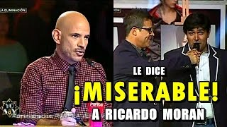 YO SOY GUILLERMO DAVILA LE DICE MISERABLE A RICARDO MORAN